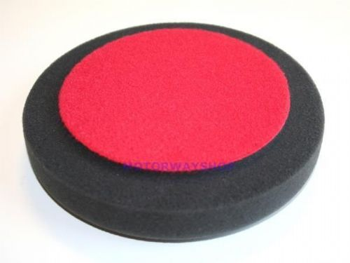 "1 x Deltalyo 6"" Inch Black Foam DA Pad For Finishing & Polishing"